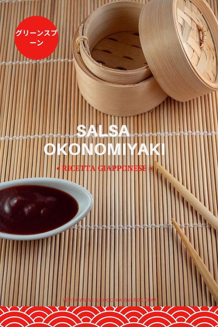 Salsa Okonomiyaki Fatta in casa