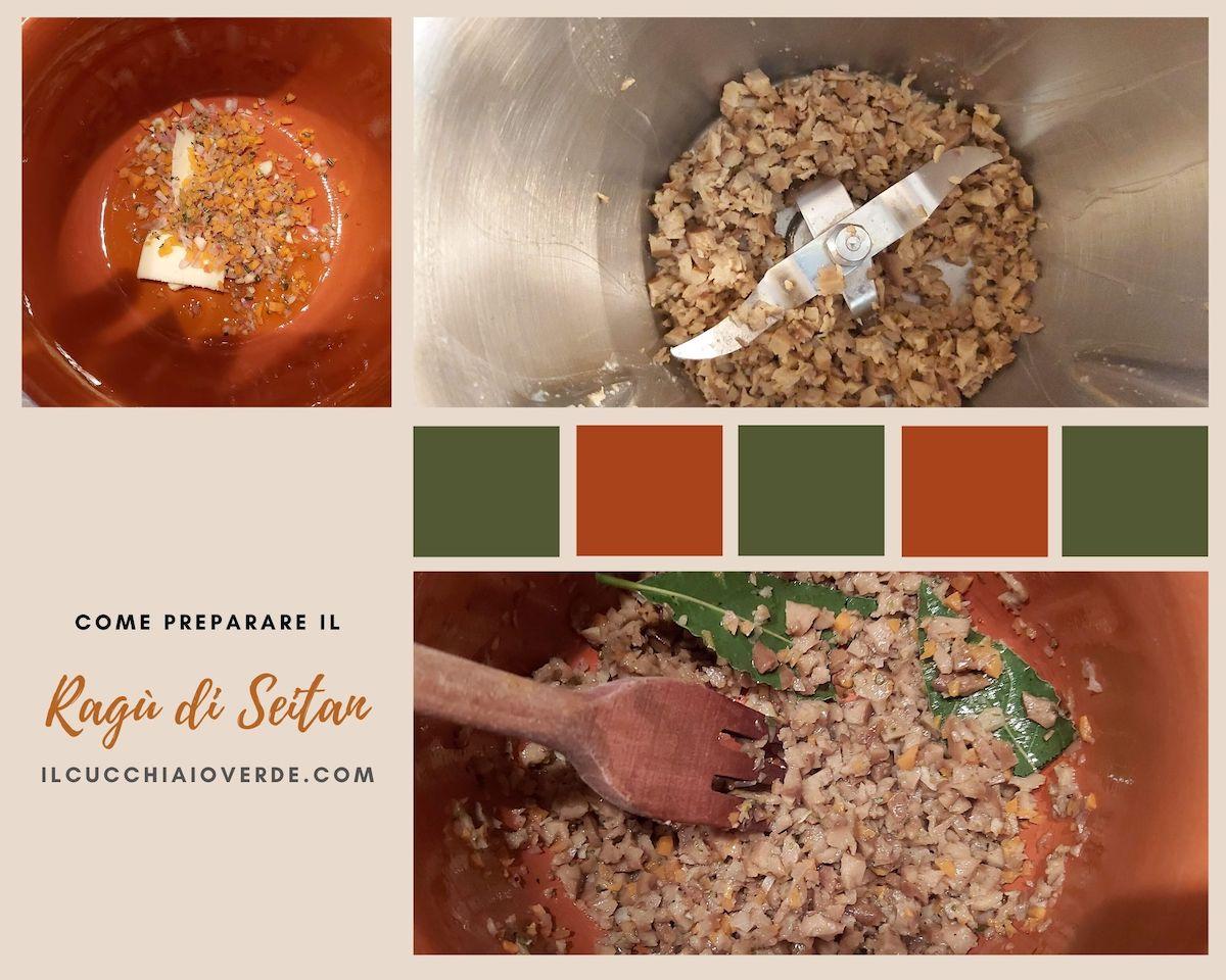Come preparare il ragù di seitan